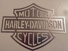 Harley Davidson Logo, Harley Davidson Motorcycles, American Logo, Bike Lift, Cornhole Designs, Sheet Metal Fabrication, Automotive Logo, Metal Art Projects, Harley Bikes