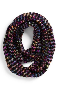 Steve Madden 'Taste the Rainbow' Knit Infinity Scarf (Special Purchase)