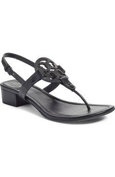 b716ea0dd360 Tory Burch Miller Block Heel Sandal (Women) available at  Nordstrom Block  Sandals