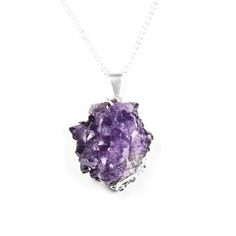 Amethyst Geode Necklace.