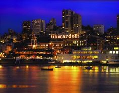Ghirardelli Square, San Francisco, CA - shops, restaurants, and of course ... chocolate!