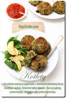 Balls with peas Healthy Cooking, Quinoa, Potato Salad, Veggies, Potatoes, Vegan, Chicken, Ethnic Recipes, Balls