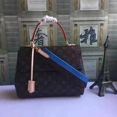 LV Monogram Cluny lively colour strap cluny mm monogram canvas handbahs  M42735 size:33X23X13CM G4  whatsapp:+8615503787453