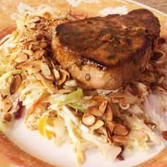Citrus Marinated Tuna Steak recipe – All recipes Australia NZ Citrus Marinade Recipe, Tuna Marinade, Grilled Tuna Steaks, Sauce For Tuna Steak, Tuna Steak Recipes, Fish Recipes, Seafood Recipes, Cooking Recipes