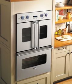 Viking Professional wall microwave oven   New Viking Professional French-Door Oven Makes Performance and ... Wish I shad enough space for a second french door oven.