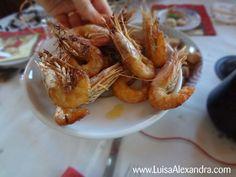 Luisa Alexandra: Camarão Frito