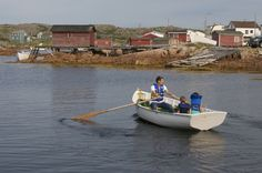 The Shorefast Foundation (funding/building the inn) set up a punt-building program to ensure the small wooden boats continue to decorate the harbour Newfoundland And Labrador, Wooden Boats, Boating, Foundation, Trucks, Island, Cars, Building, Wood Boats