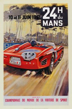 Hours Grand Prix Of Endurance At Sebring Race Meeting - Sports cars posters