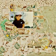 『Dream』by Miyuki Kawakami  - Scrapbook.com