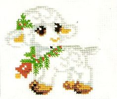 Instant Download Counted Cross Stitch PDF by LubaDaviesAtelier, £1.99