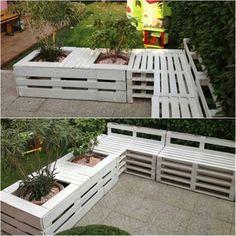 palettenbank | design, Garten und erstellen