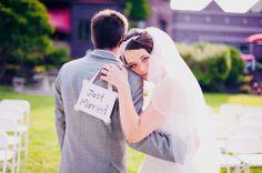 Real Wedding: Alex & Cassandra, perfect picture.