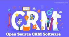 Open Source CRMs are an excellent starting point for small businesses due to their extendibility, and continous development Lead Management, Customer Relationship Management, Business Software, Cloud Based, Open Source, Starting A Business, Small Businesses