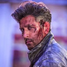 What about the war within? There is no war within . But then the look in his eyes gives it all away . Indian Bollywood Actors, Bollywood Stars, Bollywood News, Hrithik Roshan Hairstyle, Bollywood Pictures, Galaxy Pictures, Tiger Shroff, Actors Images, Most Handsome Men