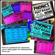 Phonics Fast Reads:
