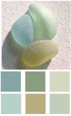 Ocean,Beach color palette