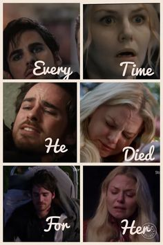 He's been near death 4 times for her!! If that's not true love I don't know what is