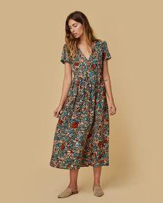 The Dawn Dress Multi Color Floral