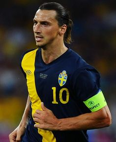 Zlatan Ibrahimovic For you Michelle.  I think this has to be one of the best pics of Ibra I've seen.  Looks like a warrior :)