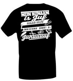 T-shirt, mijn bijnaam is juf