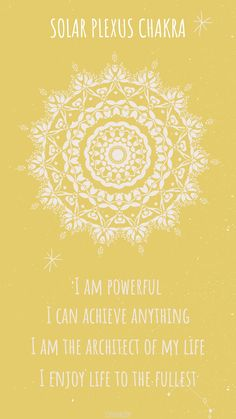 4 powerful and healing solar plexus chakra affirmations. Read all 20 solar plexus chakra affirmations on my post. #solarplexuschakra #solarplexuschakraaffirmations #chakraaffirmations Meditation Musik, Chakra Meditation, Mindfulness Meditation, Chakra Mantra, Sacral Chakra, Solar Plexus Chakra Healing, Healing Affirmations, Chakra System, 7 Chakras