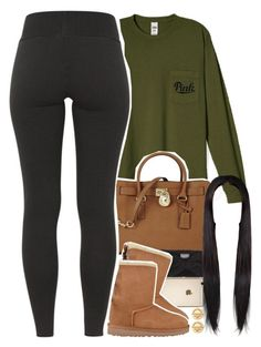 """""""sorry guys, I really haven't been active """" by daisym0nste ❤ liked on Polyvore featuring Michael Kors, Wooden Ships, UGG Australia, Tiffany & Co., women's clothing, women's fashion, women, female, woman and misses"""