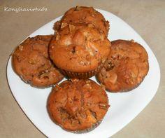 Konyhavirtuóz: Fahéjas-almás muffin
