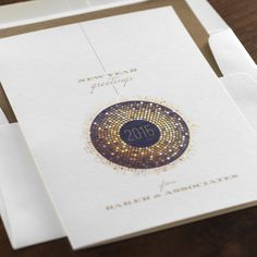 Radiance Corporate Holiday Card by Checkerboard Ltd.