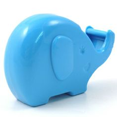 Animals - 3D Forms - Artbox Tape Dispenser: Blue Elephant