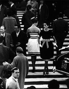 Simone and Nina, by William Klein, Roma, 1960.