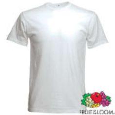 . Lote de 40 camisetas fruit of the loom talla L por tan solo 82�. Puedes utilizarla para personalizarla a tus clientes.