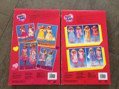 2 Pck. Mam & Baby Fashion Kleidung Puppe Barbie 80er, rare, selten Vintage, OVP | eBay Vintage Barbie Kleidung, Vintage Barbie Clothes, Barbie Mode, Cover, Baby, Games, Puppets, Baby Humor, Infant