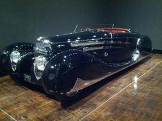 1939 Bugatti Type 57C Cabriolet when it was at the Frist Center. Gorgeous and timeless.
