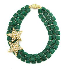 Following Faraway Stars - love the square shape of these beads
