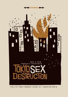 Tokyo Sex Destruction by Jean Mosambi