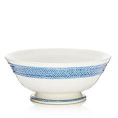 Juliska Le Panier Delft Footed Fruit Bowl
