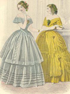 1850 Fashion | 1850's fashion | Flickr - Photo Sharing!