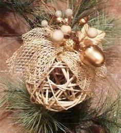 String xmas decoration