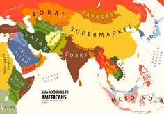 Stereotype map