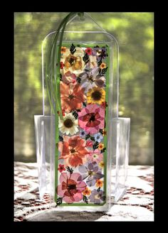 Pressed Flowers Bookmark, I'd rather make it then spend 8 bucks, lol.... I think I could do it!!
