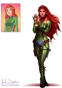 Sam from Totally Spies!