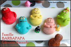 Le jour où j'ai acheté ces empreintes Mini-Modulo, j'ai tout de suite pensé à la forme des Barbapapa et je savais que j'en ferais tôt ou tard. Je n'avais plus qu'à trouver une recette simple et sympa pour mes gâteaux et c'est là que je suis tombé sur...