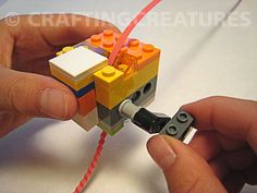 How to make Christopher's Crimper from Lego