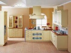 Resultado de imagen para cocinas color crema