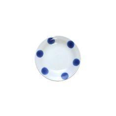 미요 [일본접시 미요] 푸른 6점 종지 미니 접시 10.1cm