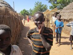 Students after school in the camp by Darfur Dream Team, via Flickr