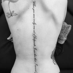 nice Top 100 spine tattoos - http://4develop.com.ua/top-100-spine-tattoos/ Check more at http://4develop.com.ua/top-100-spine-tattoos/