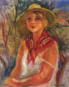 Charles Camoin - Portrait de femme