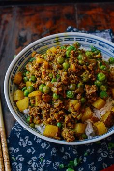 Curry Beef Bowls More More
