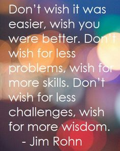 Wish for something better :)
